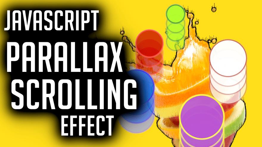JavaScript Parallax Scrolling Effect