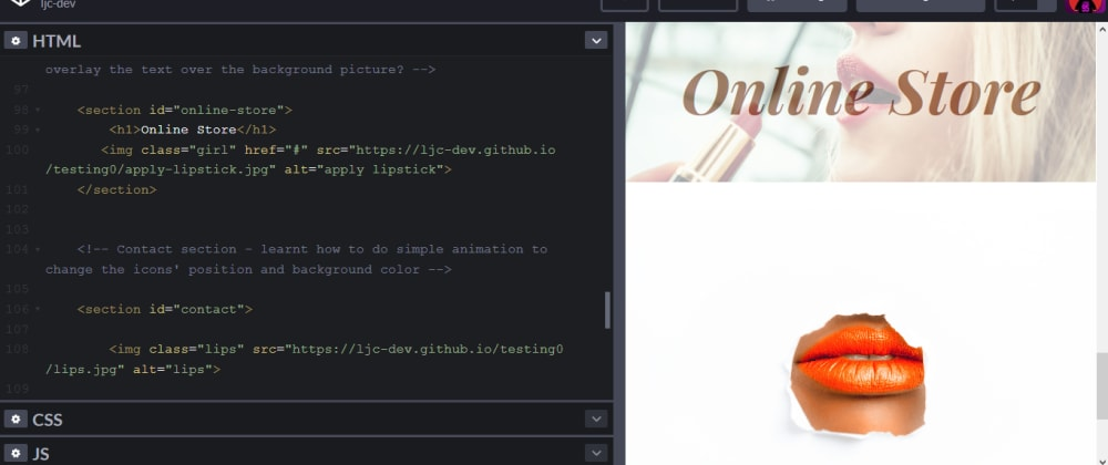 Cover image for A quick hack to using local images on Codepen