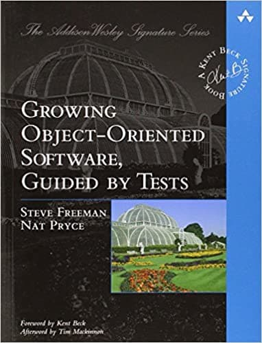 Growing Object Oriented Software Guided Tests cover