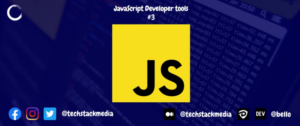 Cover image for JavaScript Developer Tools