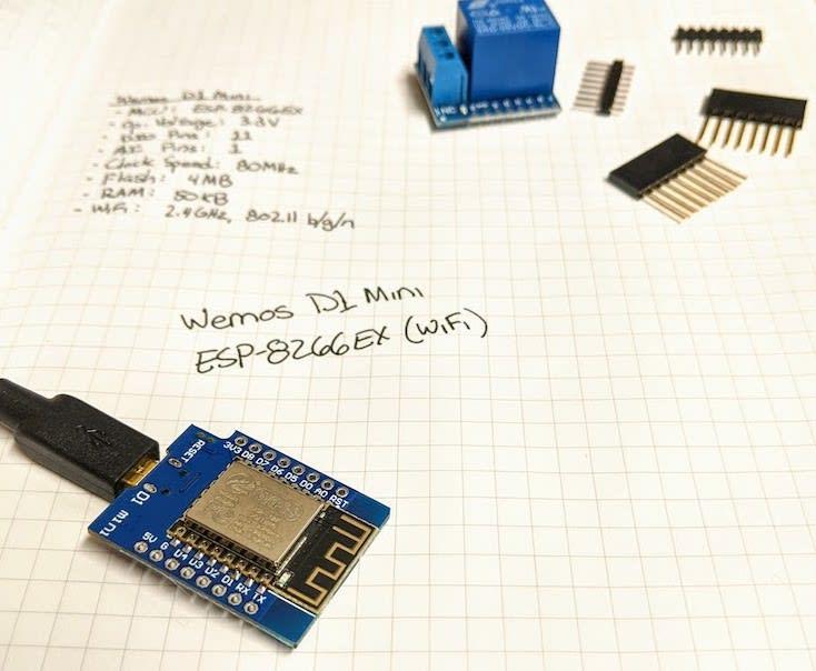 Wemos D1 Mini (ESP-8266EX SoC)