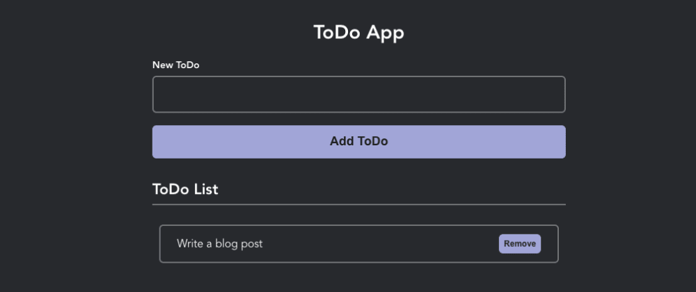 Cover image for Create ToDo App With Vue 3 Composition API