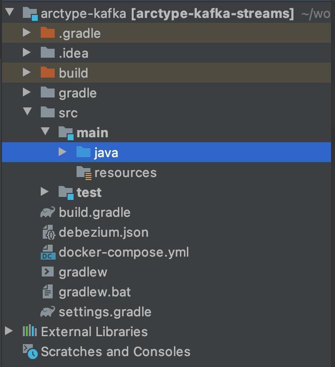 Create a new Java Class/File