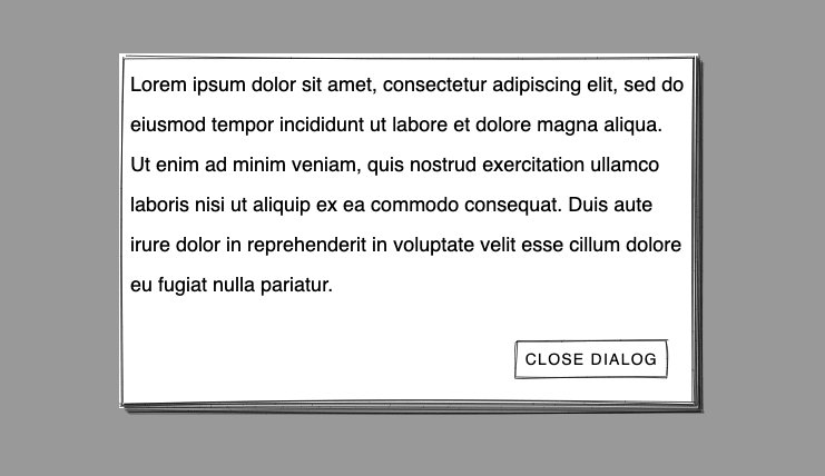 wired-dialog example
