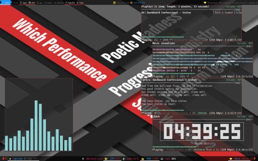 Herbstluftwm Screenshot Demo
