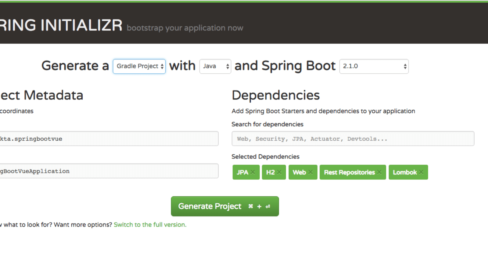Build a Simple CRUD App with Spring Boot and Vue.js - DEV