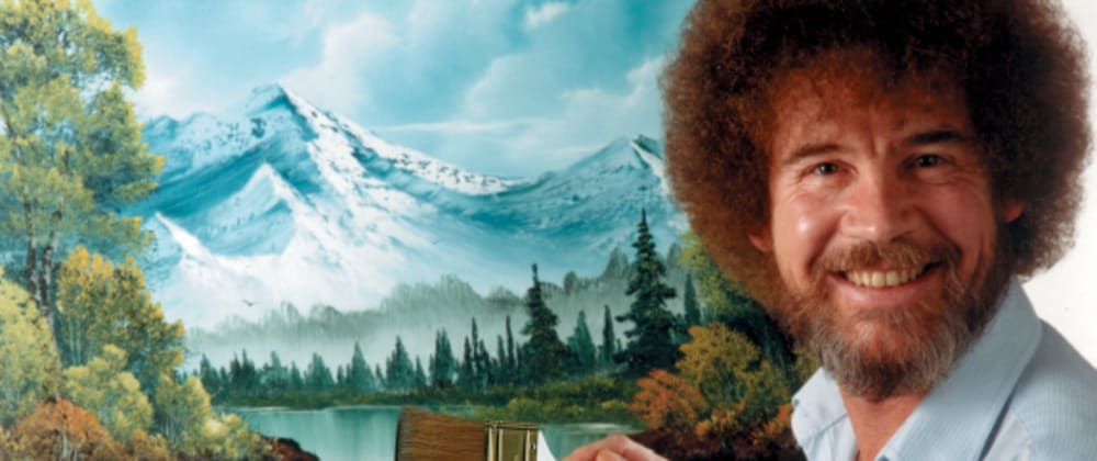 Cover image for Bob Ross blesses your Repo With Happy Little Accidents