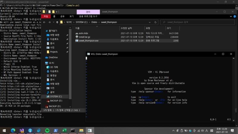 Sandboxing WSL distro