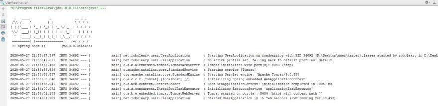 Spring Initializr configuration