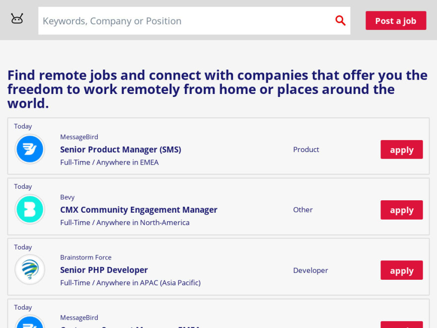Remote Job Board Remotewx