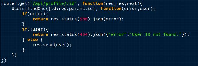 Use Status Codes!