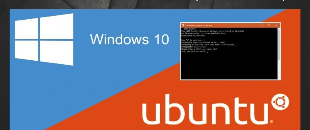 Cover image for Running Linux Bash Shell in Windows 🤯