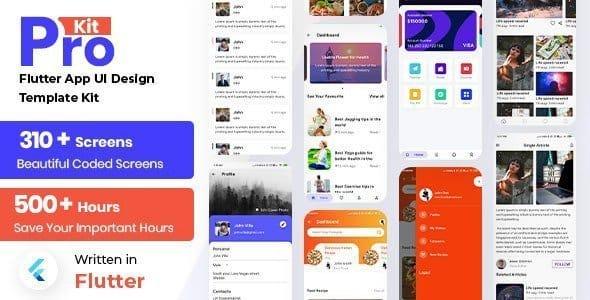 Prokit – Flutter App UI Kit