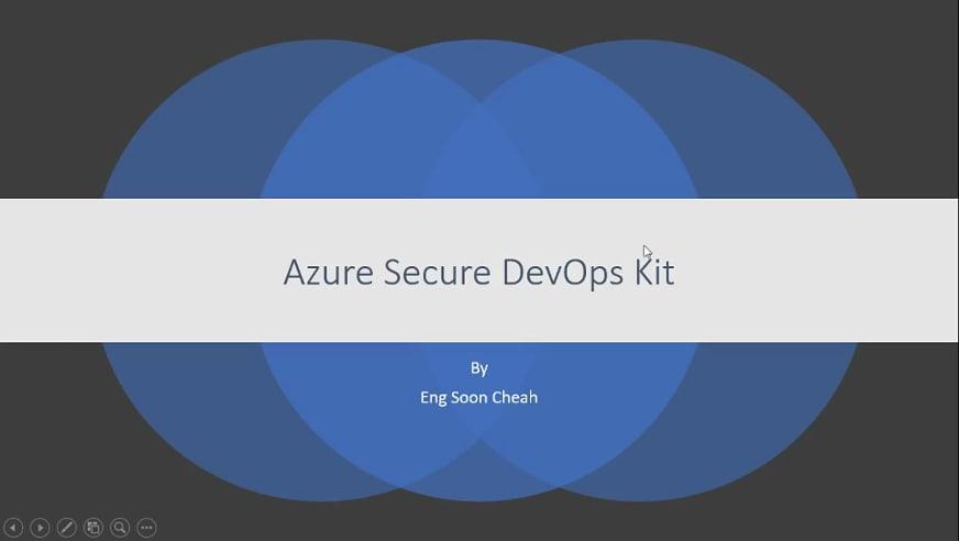 Azure Secure DevOps Kit