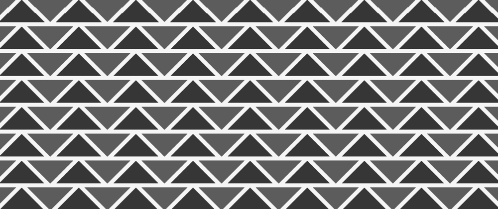 Cover image for Background pattern - triangle shape