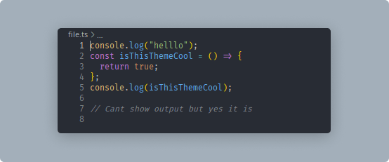 Code snippet — One for all