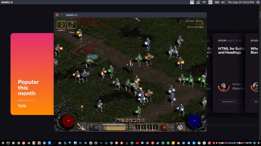 Diablo 2 Linux