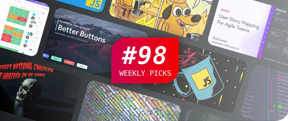 Cover image for Weekly Picks #98—Development Posts