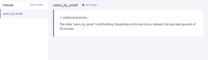 index-building