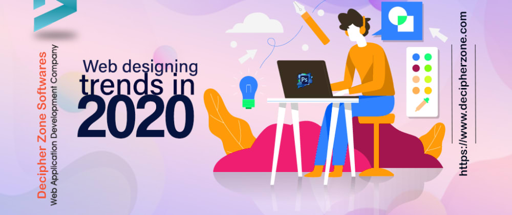 Cover image for 12 Web design trends 2020