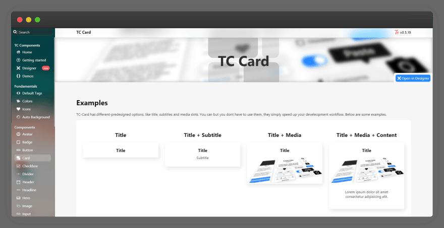 TC Component