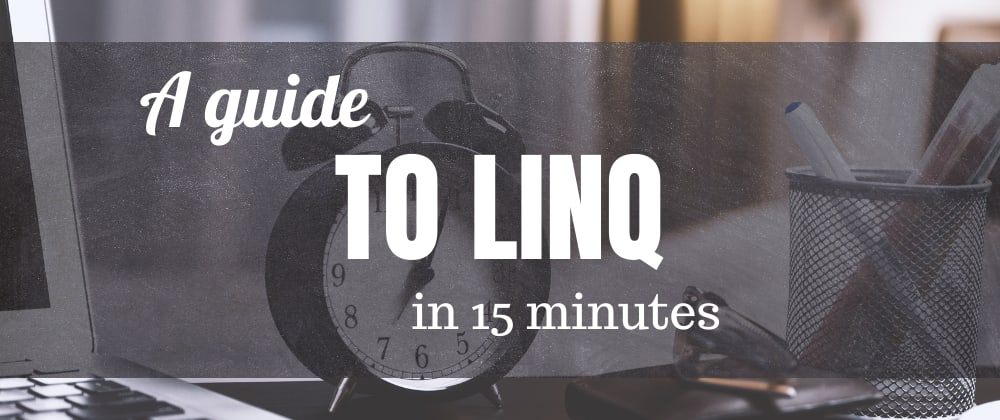 Cover image for A quick guide to LINQ with examples