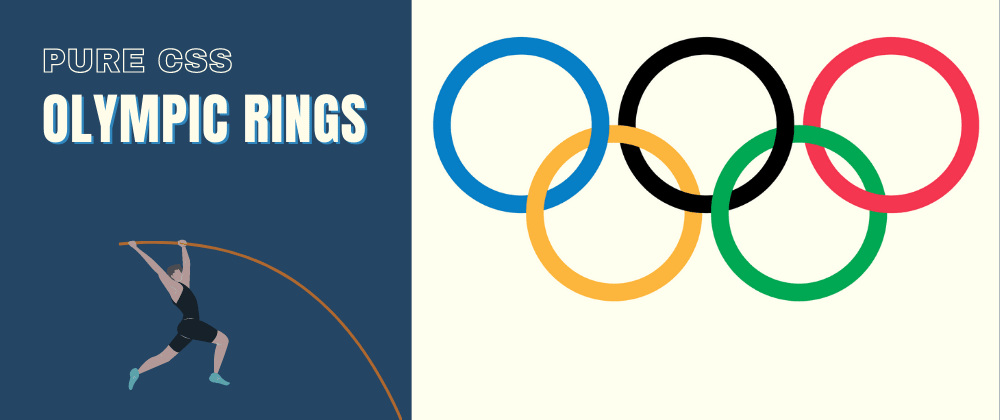 Cover image for Pure CSS Olympic Rings 💫