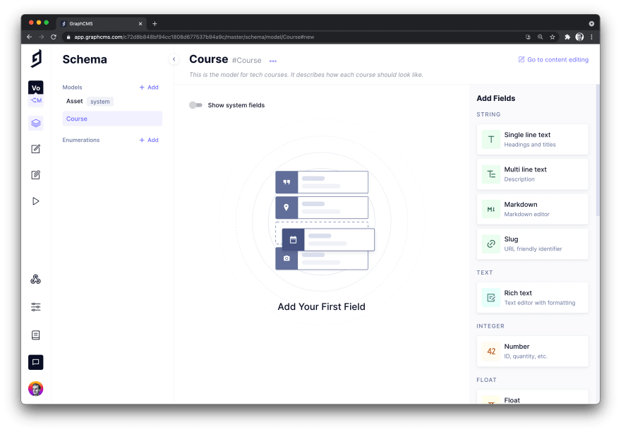GraphCMS Model Page.png