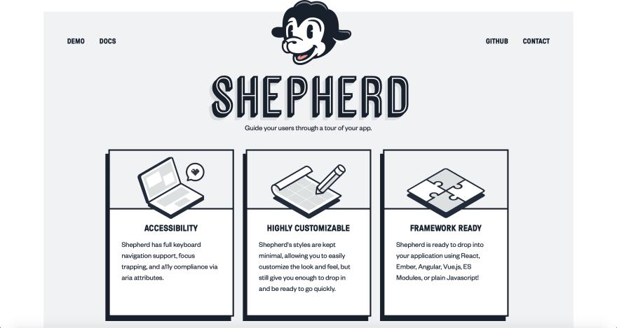 Image of Latest Shepherd Website