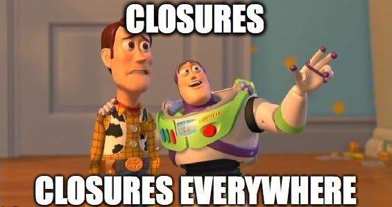 swift closure everywhere