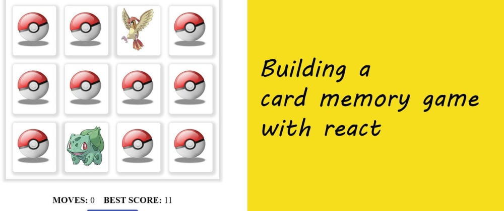 Cover image for Build a Card Memory Game with React