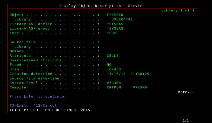 DSPOBJD_EF1MAIN_service