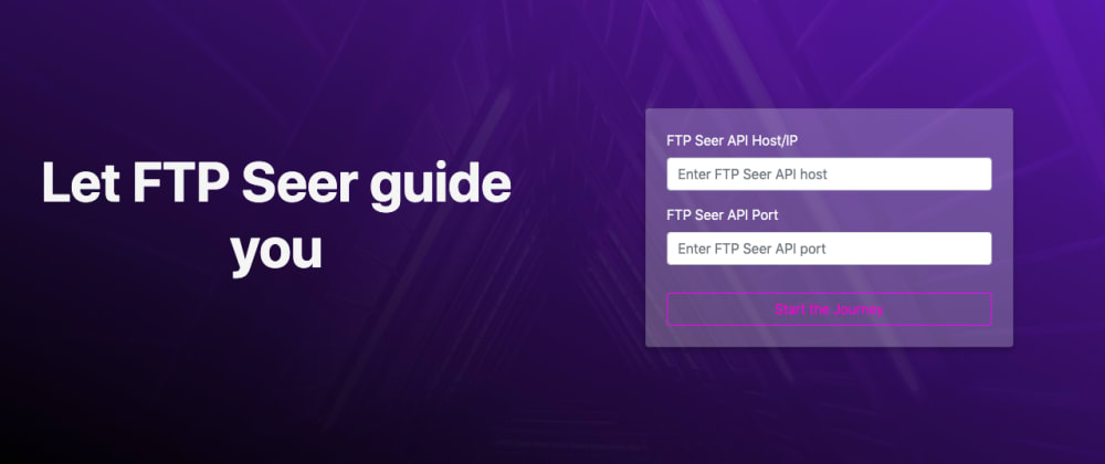 Cover image for FTP Seer - A simple web based FTP file explorer