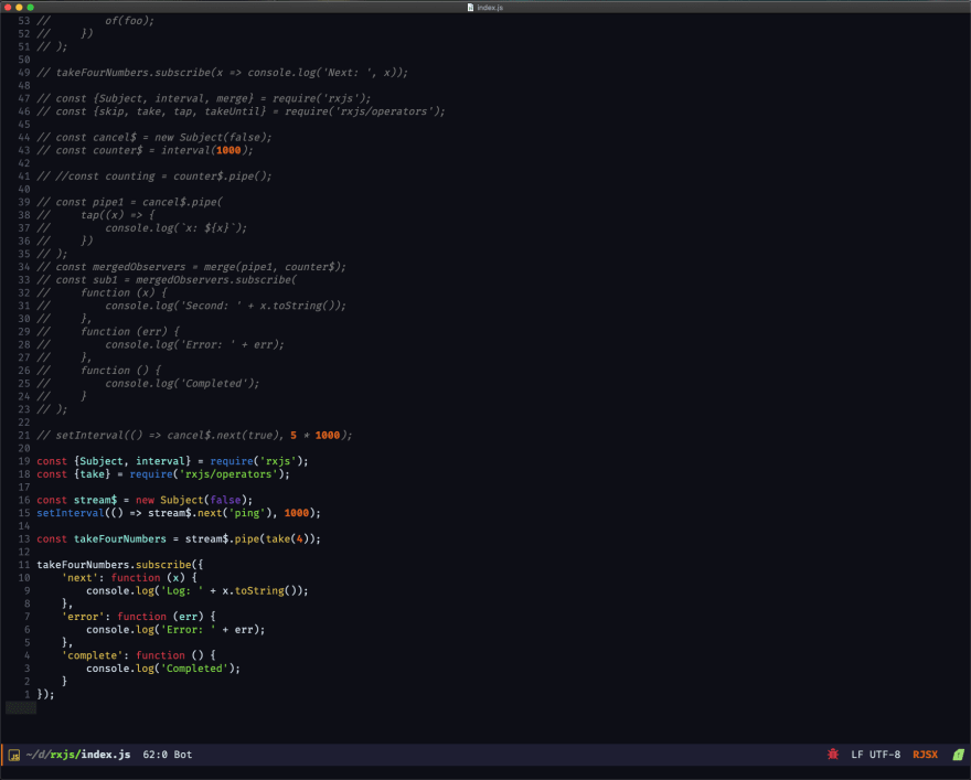 Dark theme on Emacs