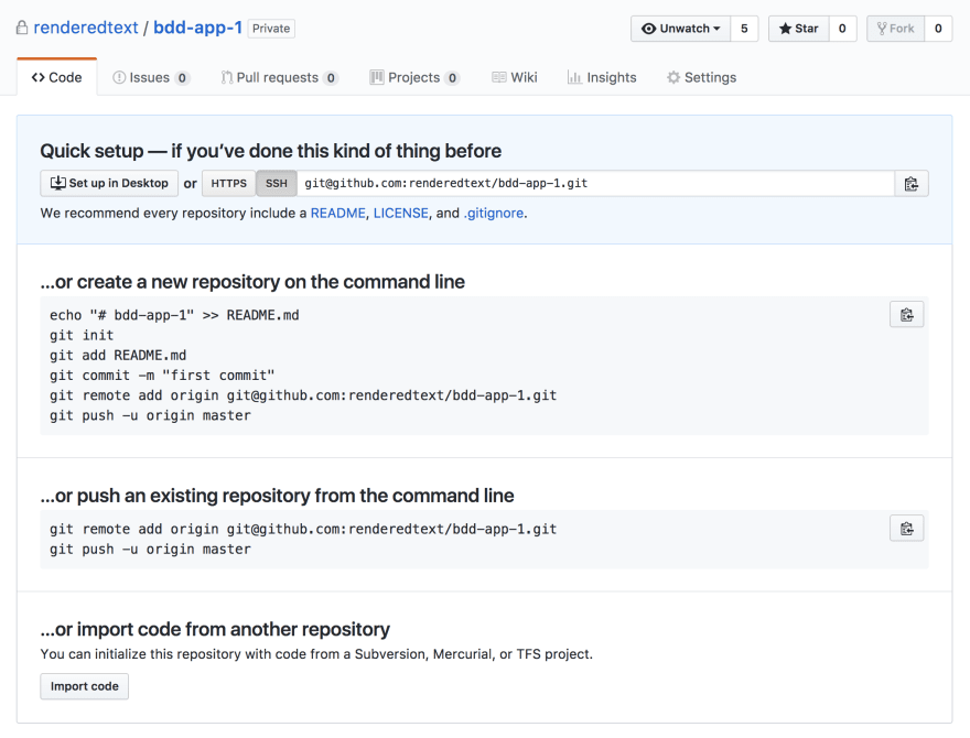 New GitHub repository