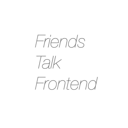 Friends Talk Frontend