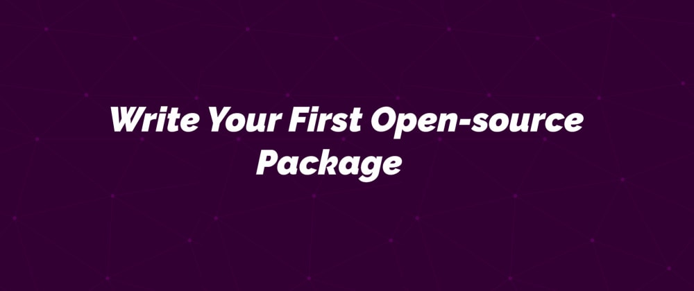 Cover image for Hitchhiker's Guide To Writing Your First Open-source software