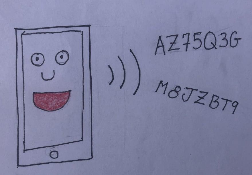 Phone Broadcasting Codes