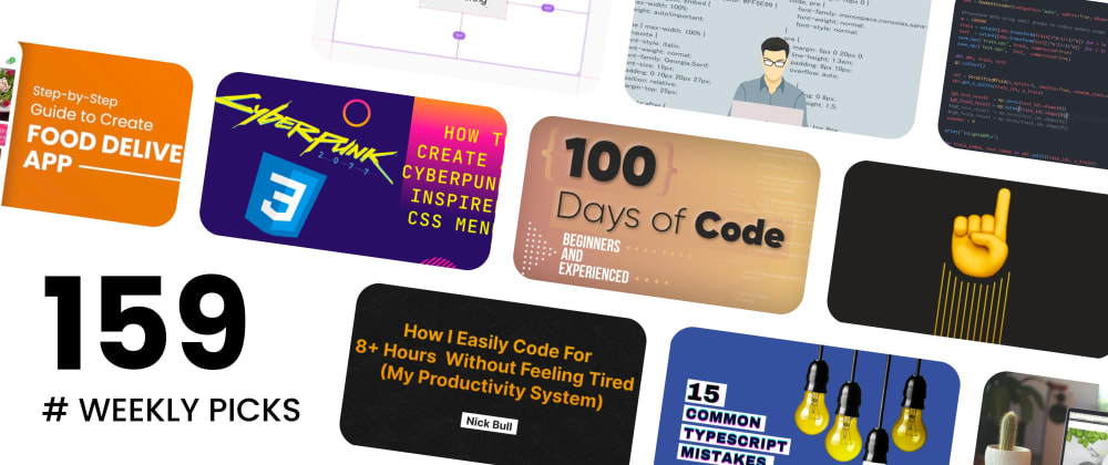 Cover image for 🔥 What's Hot in Web Development? — Weekly Picks #159