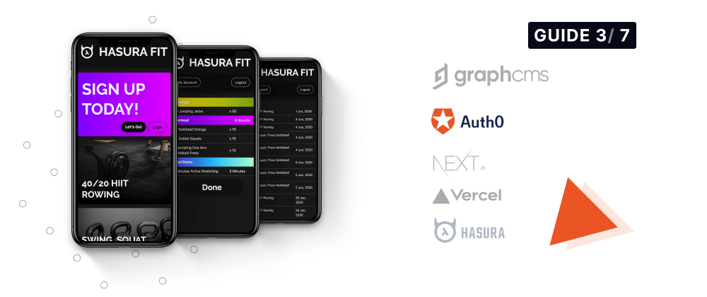 Cover image for Hasura Fit: Setting up the Auth Flow