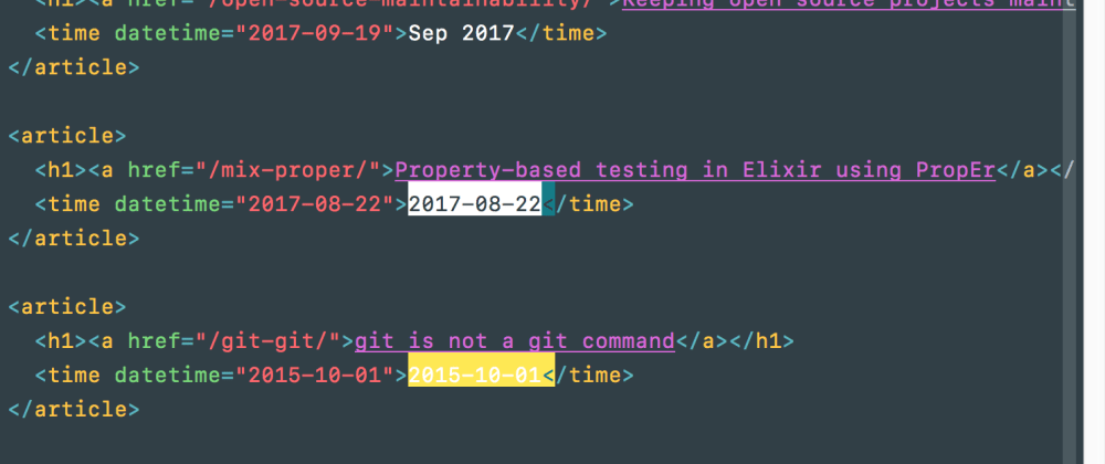Cover image for Find, convert and replace dates with Vim substitutions