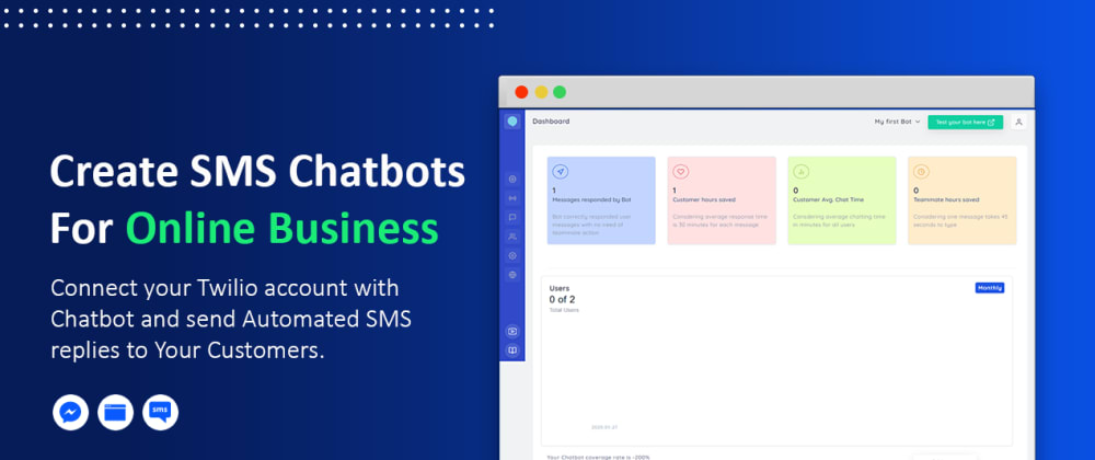 Cover image for SMS Chatbots To Reach Out Customers Anytime