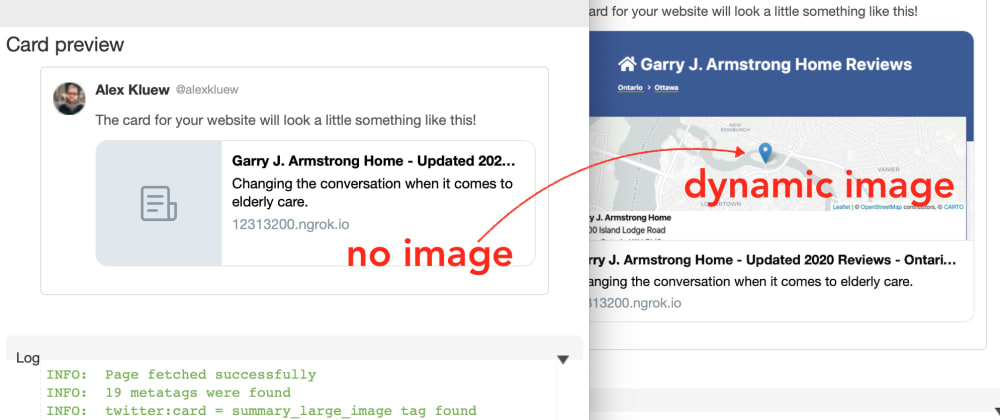 Cover image for Generate your social share images automatically in expressjs.