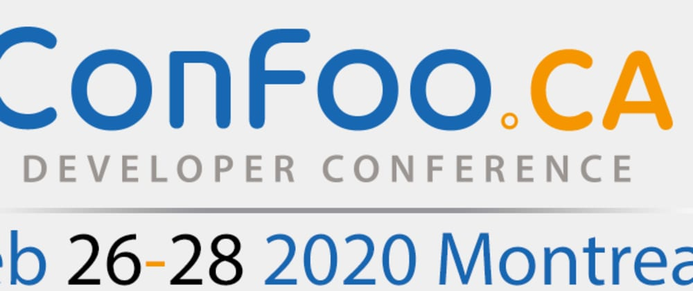 Cover image for Confoo 2020: Intro & opening keynote