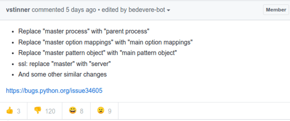 Cover image for How do you feel about changing naming terms?