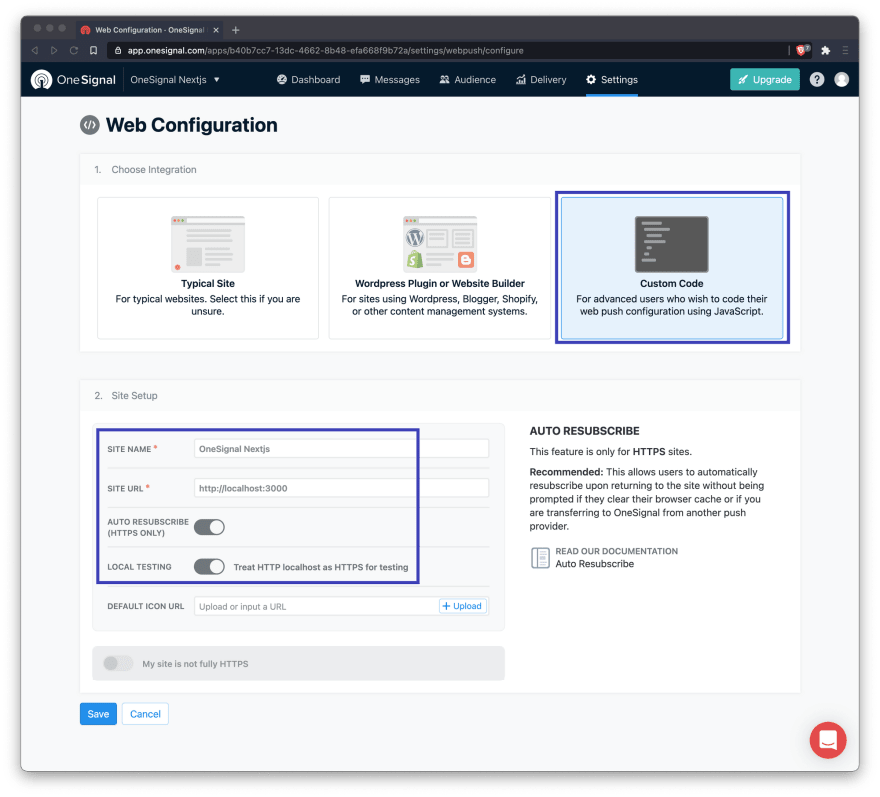 How to Integrate OneSignal into a Next.js App