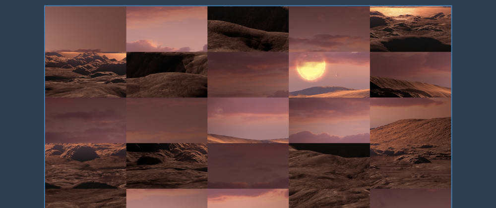 Cover image for I created Image Sorting Visualizer with Javascript