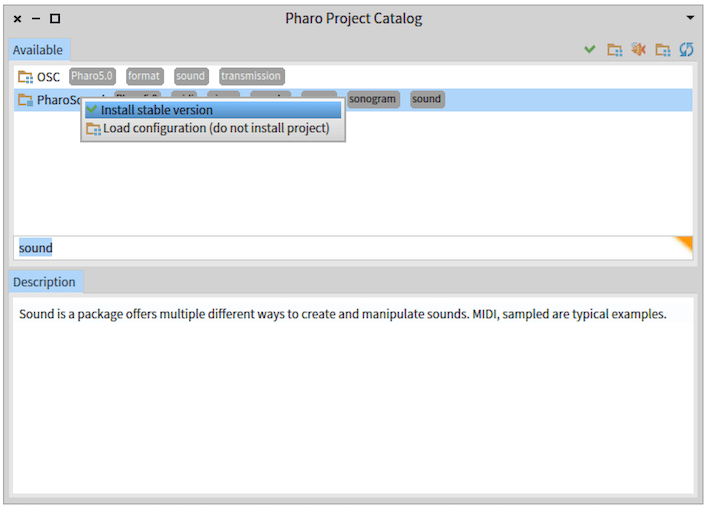 Installing stable package version