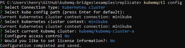 kubemqctl-config