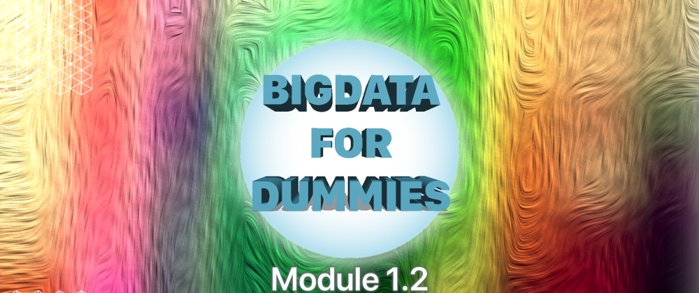 Cover image for Introduction to Hadoop for dummies [Module1.2]